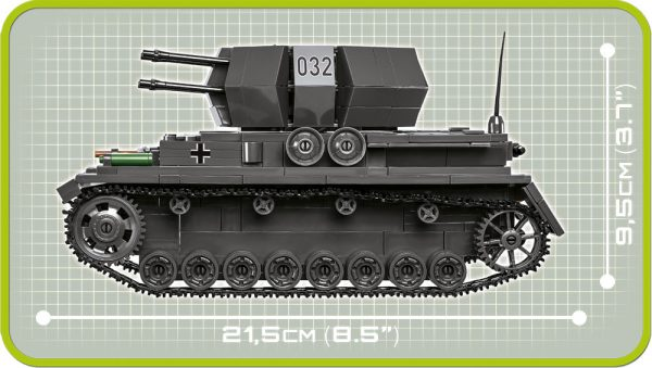 COBI 2548, Flakpanzer IV Wirbelkwind