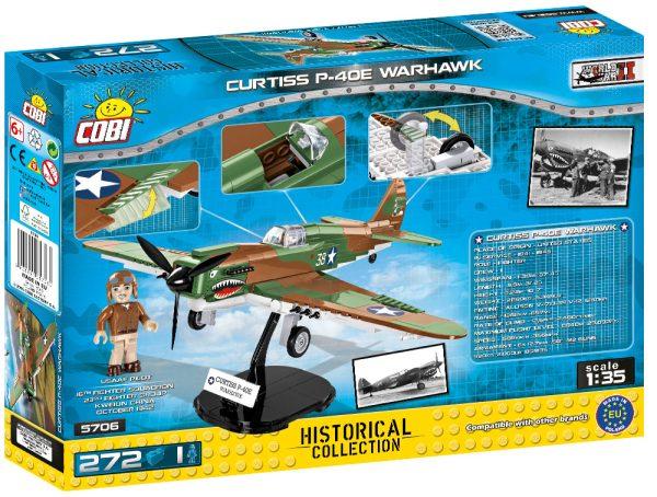 COBI 5706, Curtiss P-40E Warhawk