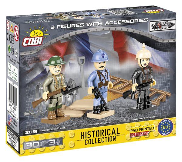 COBI 2051, Great war Minifigures