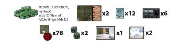 COBI 22104, Tank War - Board Game