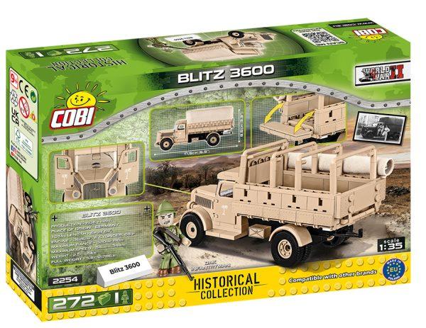 COBI 2254, Blitz 3600