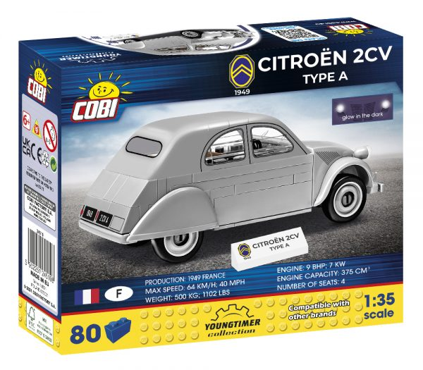 COBI 24510, CITROEN 2CV Type A (1949)