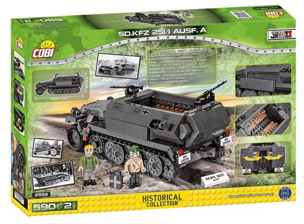 COBI 2552, SD.KFZ.251 / 1 Ausf.A.590KL