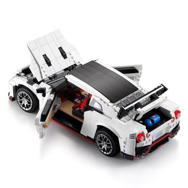 CaDA Bricks, C61016W Sports car