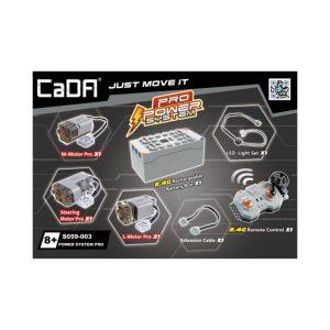 CaDA Bricks, S059-003 Power Pack