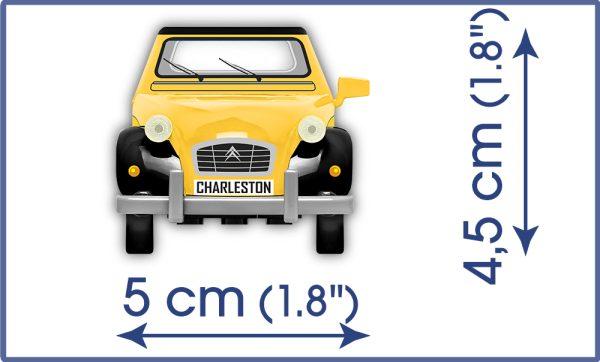 COBI 24512 - CITROEN 2CV CHARLESTON 84 KL.