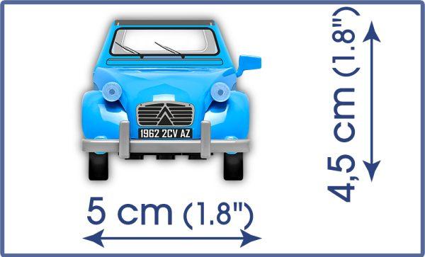 COBI 24511 - CITROEN 2CW TYPE AZ 1962 80KL