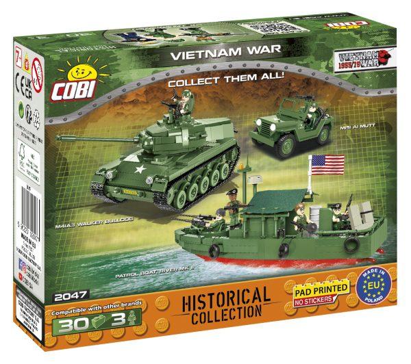 COBI 2047, Vietnam war 3 minifigures