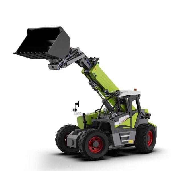 CaDA C61051W, Telescoop lader
