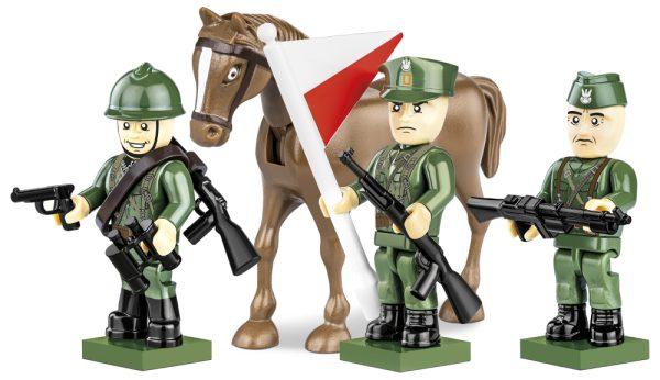 COBI 2049, Polish Army 1939 - 3 figures