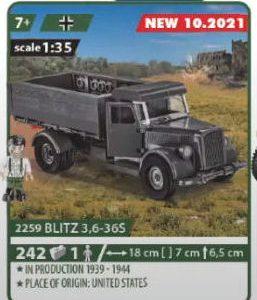 COBI 2259, Blitz 3,6-365