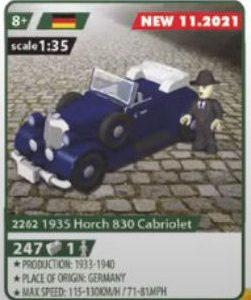 COBI 2262,1935 Horch 830 Cabriolet