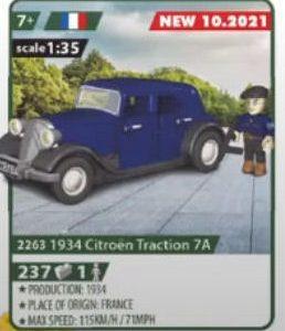 COBI 2263, 1934 Citroën Traction 7A