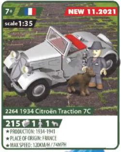 COBI 2264, 1934 Citroën Traction 7C