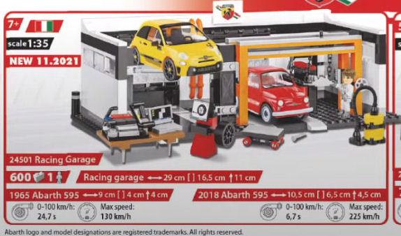 COBI 24501, Racing Garage