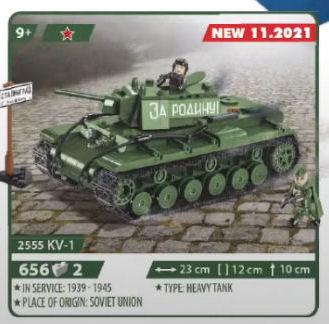 COBI 2555, KV-1