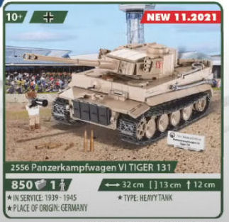 COBI 2556, Panzerkampfwagen VI TIGER 131