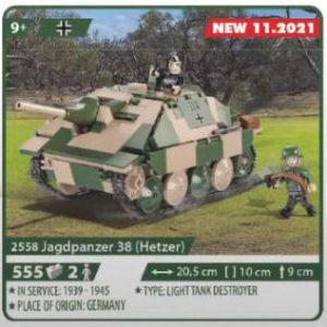 COBI 2558, Jagdpanzer 38 (Hetzer)