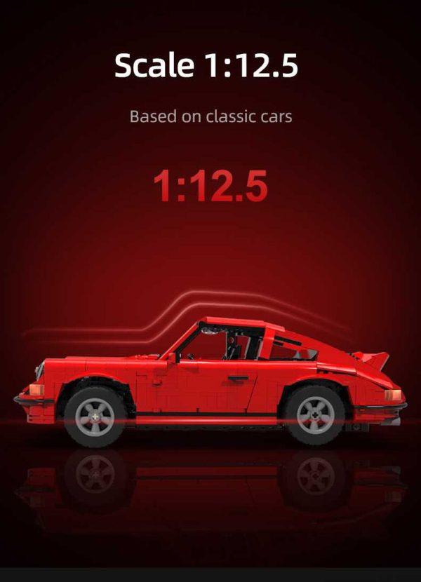 CaDA C61045W, Classic Sports Car 1:12.5 (excl. Motoren)