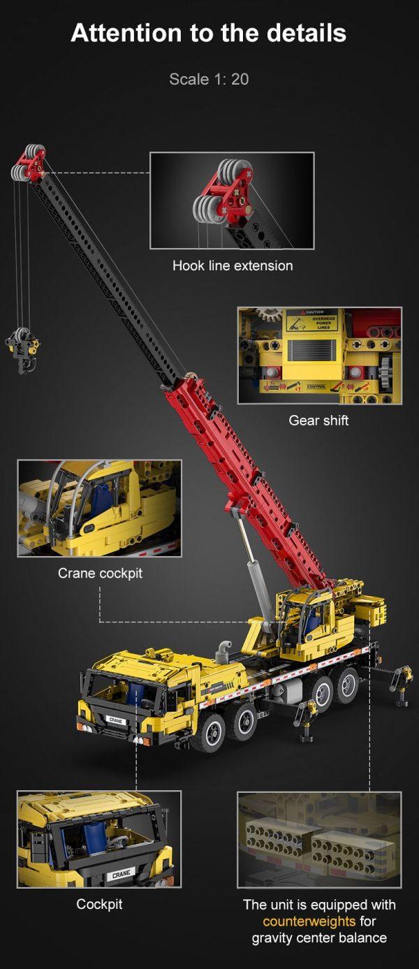 CaDA C61081W, Mobile crane