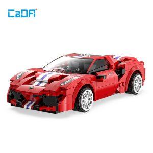 CaDA C51072w, Red Sports car