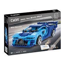 CaDA C51073w, Blue Race car