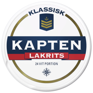 kapten lakrits portion snus