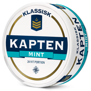 kapten mint portionssnus white