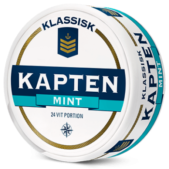 kapten mint portionssnus white