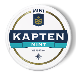 kapten mini mint snus