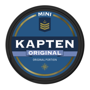 kapten portion minisnus