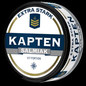 Kapten Vit Salmiak Extra Stark portionssnus
