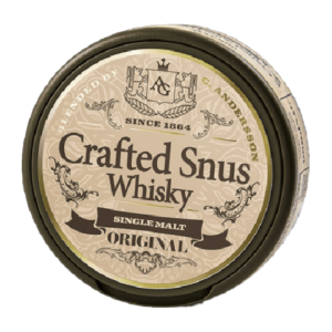 crafted whisky snus original