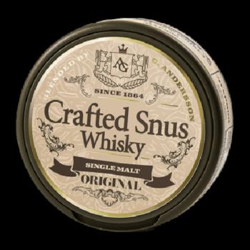crafted whisky snus original