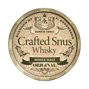 crafted whiskey snus