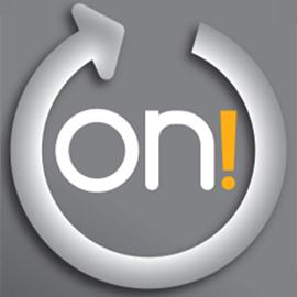 on! minisnus logo