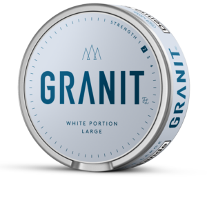 granit vit portion snus