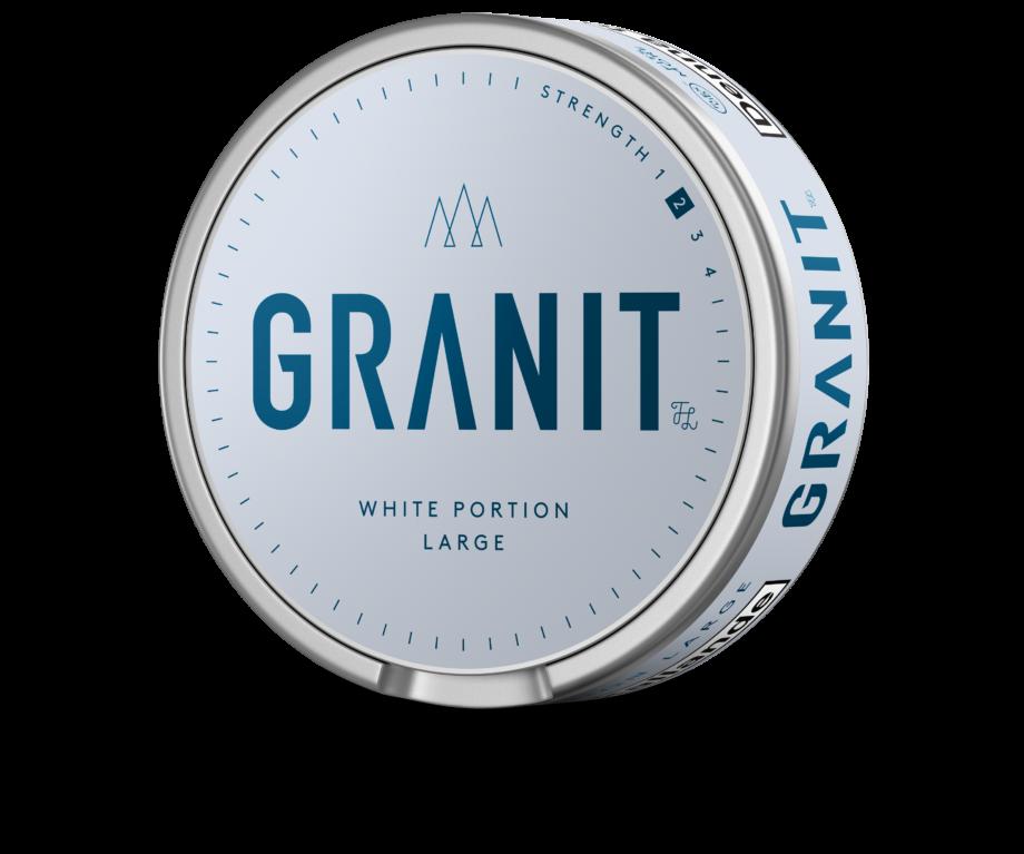 granit vit portion snus