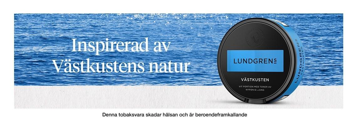 Lundgrens snus är ett premiumvarumärke som tillverkas av Fiedler & Lundgren. Lundgrens utmanar alltid snusvärldens normer med en stolt hantverkstradition och revolutionerande nytänk. Lundgrens har introducerat åtskilliga innovationer de senaste åren. Först ut var den perforerade påsen. En snuspåse med hål, som släpper igenom smaken snabbare utan att rinna mer, och mjukare fleece som inte skaver under läppen. Den senaste innovationen från Lundgrens är flexlocket. Flexlocket är ett helt unikt lock som är gjort av ett rörligt membran vilket betyder att den expanderar när du lägger i använda prillor. Det är det rymligaste locket på marknaden och du får plats med upp till 20 prillor. Varje produkt från Lundgrens är en hyllning till en region i Sverige, med smaksättningar som väcker associationer till omtyckta svenska regioner. Vårt mål är att låta Lundgrens ta med dig på en smakresa och utforskandet av den svenska floran har bara precis börjat.