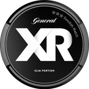 Om produkten XR General slim original Portionssnus XR General slim original Portionssnus är ett innovativt snus med nätt passform som kommer i långsmala portioner. Snuset har en kryddig tobakskaraktär som ackompanjeras av bergamott, en aning te, hö och läder. De lätt fuktiga portionerna möjliggör för smaken att snabbt träda igenom. Fakta om produkten Varumärke XR Produkttyp Original portion Vikt 0.338 Styrka Normal Nikotinhalt 9,5 mg/g Innehåll/förpackning (gram) 18,9 Snustyp Original Slim Portion Format Slim Producent Swedish Match snushandel nyköping snusbutiken påljungshage köpcentrum tobak