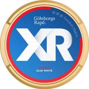 Om produkten XR Göteborgs Rapé Strong slim white Portsionssnus XR Göteborgs Rapé Strong slim White Portionssnus är ett snus med klassisk Rapé smak, hög nikotinhalt och slim portioner. Fakta om produkten Varumärke XR Produkttyp White portion Vikt 0.3176 Styrka Normal Nikotinhalt 8,5 mg/g Innehåll/förpackning (gram) 16,8 Snustyp Slim White Portion Format Slim Producent Swedish Match snushandel nyköping snusbutiken påljungshage köpcentrum tobak