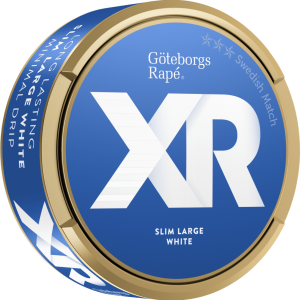 Om produkten XR Göteborgs Rapé slim white Portionssnus XR Göteborgs Rapé slim white Portionssnus är ett snus med tydliga inslag av lavendel och enbär, med små förnimmelser av trä och citrus. Snuset kommer i långsmala, vita portioner vars yta är torr vilket ger en låg rinnighet och långvarig smak Fakta om produkten Varumärke XR Produkttyp White portion Vikt 0.3176 Styrka Normal Nikotinhalt 8,5 mg/g Innehåll/förpackning (gram) 16,8 Snustyp Slim White Portion Format Slim Producent Swedish Match snushandel nyköping tobaks butik ivape