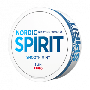 Nordic Spirit Smooth mint white snus