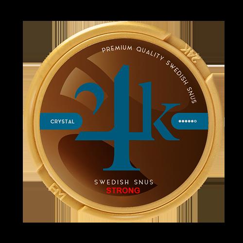 24K crystal snus