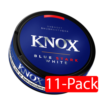 knox blue strong portionssnus