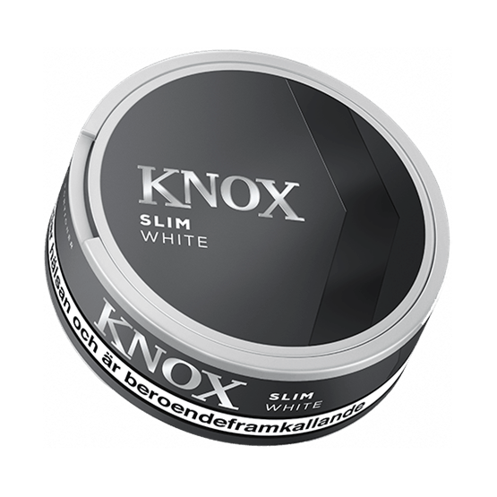 Knox Slim Original White Portionssnus knox slim white portionssnus