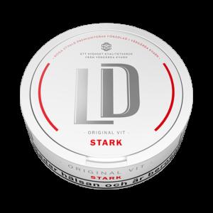 Om produkten LD Original Stark Portionssnus LD Original Stark Portion har samma smakbas som LD Original Portion.Skillnaden är att LD Original Stark Portioninnehåller 14 mg nikotin pergram snus. LD Original Stark Portion tillverkas av Nordic Snus i Vårgårda. Där tillverkar de även sju andraLD-sorter, bland annat LD 30 och LD Salmiak. Alla varianter kan du hitta här! Fakta om produkten Varumärke LD Produkttyp Original portion Styrka Starkt Nikotinhalt 14 mg/g Innehåll/förpackning 18 g Snustyp Original Stark Portion Format Normal 4 Producent Nordic Snus snushandel i nyköping ab påljungshage köpcentrum snusbutiken tobacco 2baco ivape tobaks butiken vit extra stark portionssnus vit stark