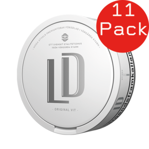 led vit portion 11 pack snus