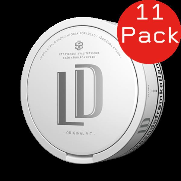 led vit portion 11 pack snus