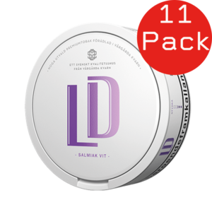 ld vit salmiak portion snus 11 pack